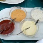 plateau de sauces